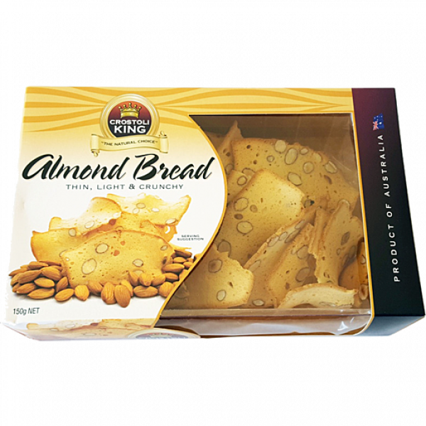 Crostoli King CROSTOLI KING ALMOND BREAD 150G