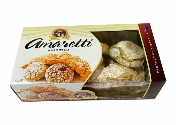 Crostoli King CROSTOLI KING AMARETTI ASSORTED 250G