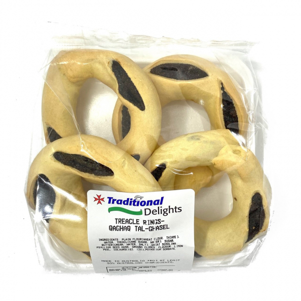 Traditional Delights TRADITIONAL DELIGHTS TREACLE RINGS 180G