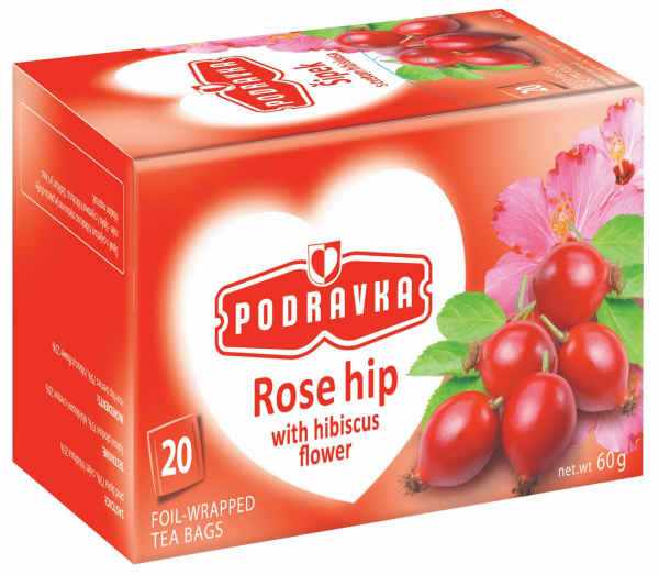 Podravka PODRAVKA ROSE HIP TEA 60G