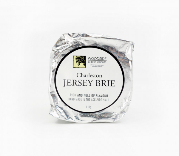 Woodside Cheese Wrights WOODSIDE CHARLESTON JERSEY BRIE 110G