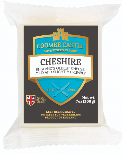 COOMBE CASTLE CHESHIRE CHEESE 200G