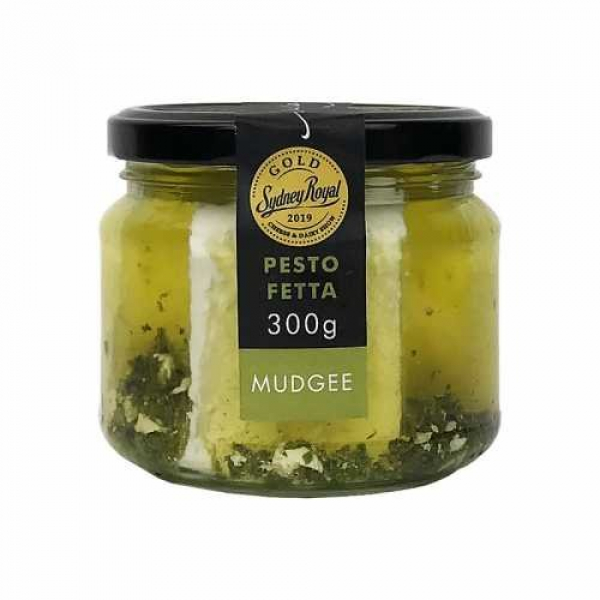 High Valley HIGH VALLEY FETTA WITH PESTO 300G