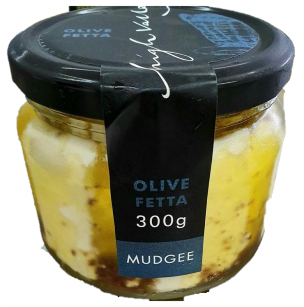 High Valley HIGH VALLEY FETTA WITH OLIVE 300G