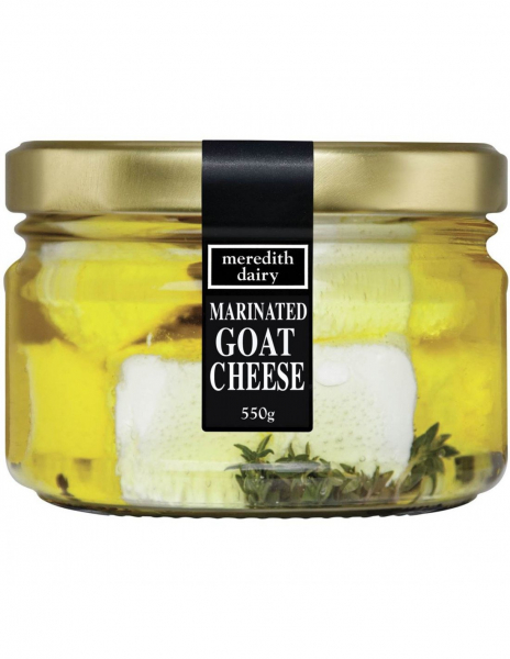 Meredith Dairy MEREDITH DAIRY MARINATED GOAT CHEESE 550G