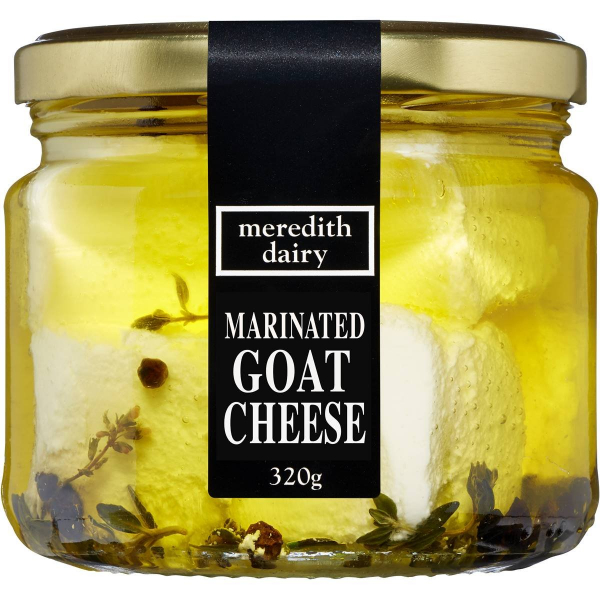 Meredith Dairy MEREDITH DAIRY MARINATED GOATS CHEESE 325G
