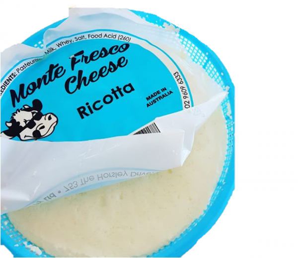 Monte Fresco RICOTTA CHEESE 1KG EACH