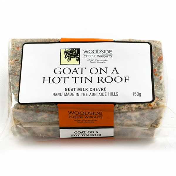 Woodside Cheese Wrights WOODSIDE CHEVRE GOATS HOT 150G
