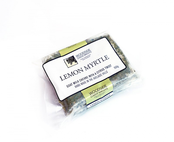 Woodside Cheese Wrights WOODSIDE LEMON MYRTLE CHEVRE150G